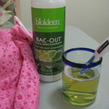 Bac-Out cleaner