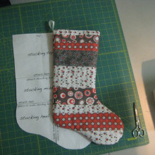 Fat Quarter Stocking
