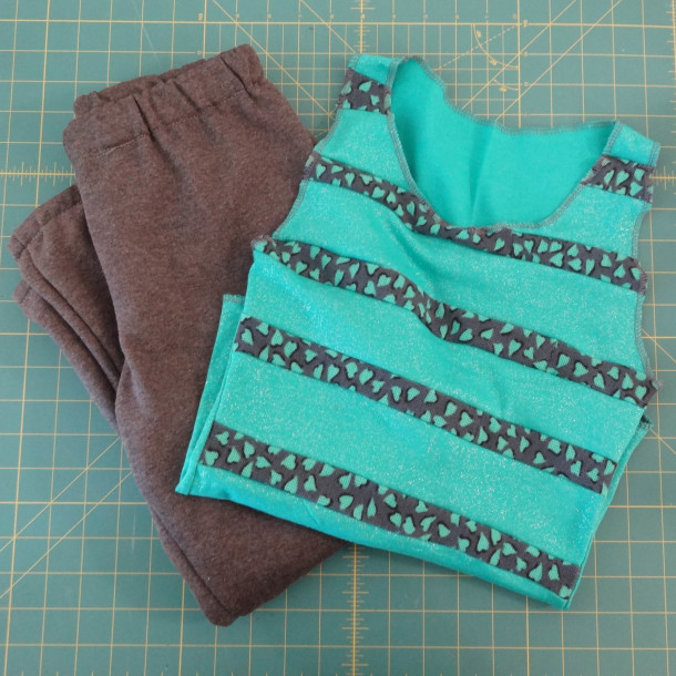 Boy Pants and Girl Tank