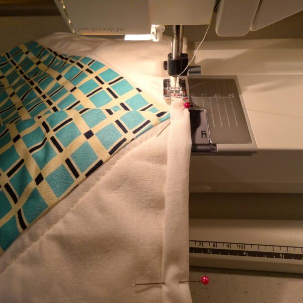 Sew Down Binding