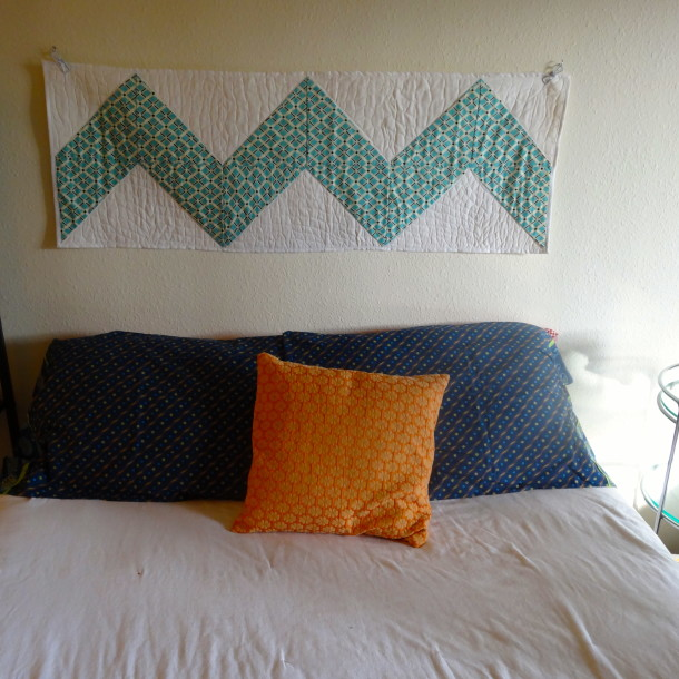 Chevron Quilt Headboard
