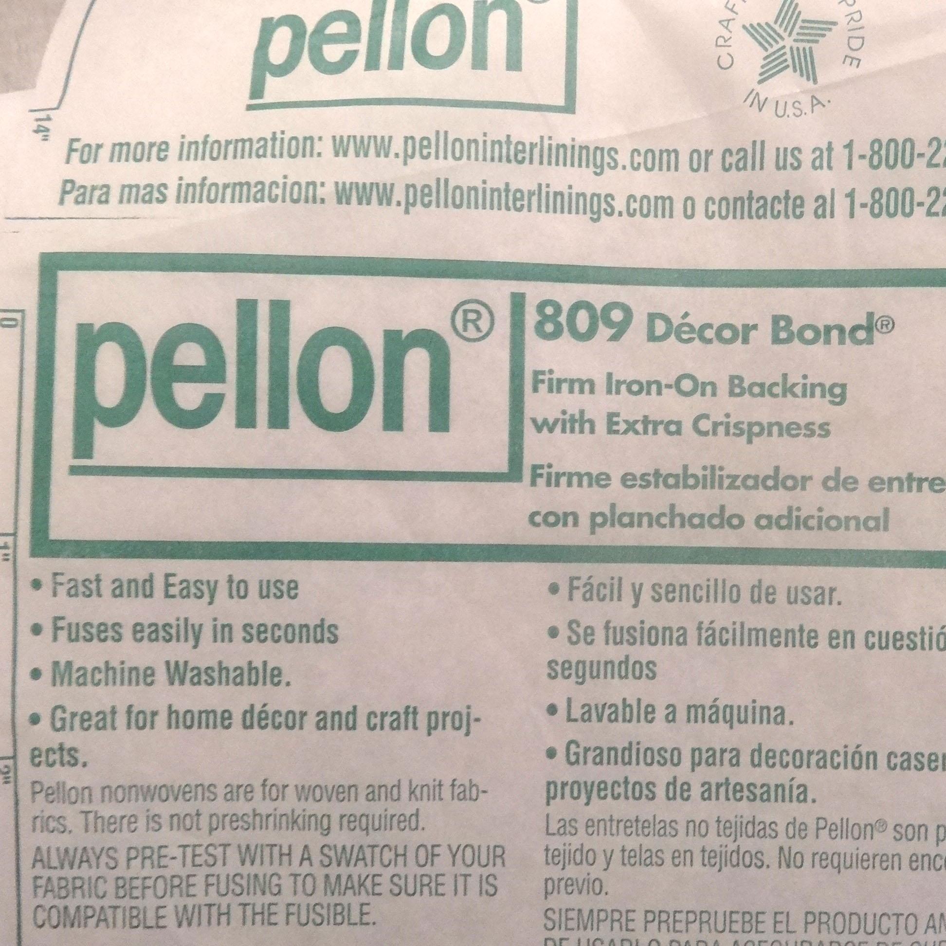 Pellon 809 Decor Bond Techieblogie Info