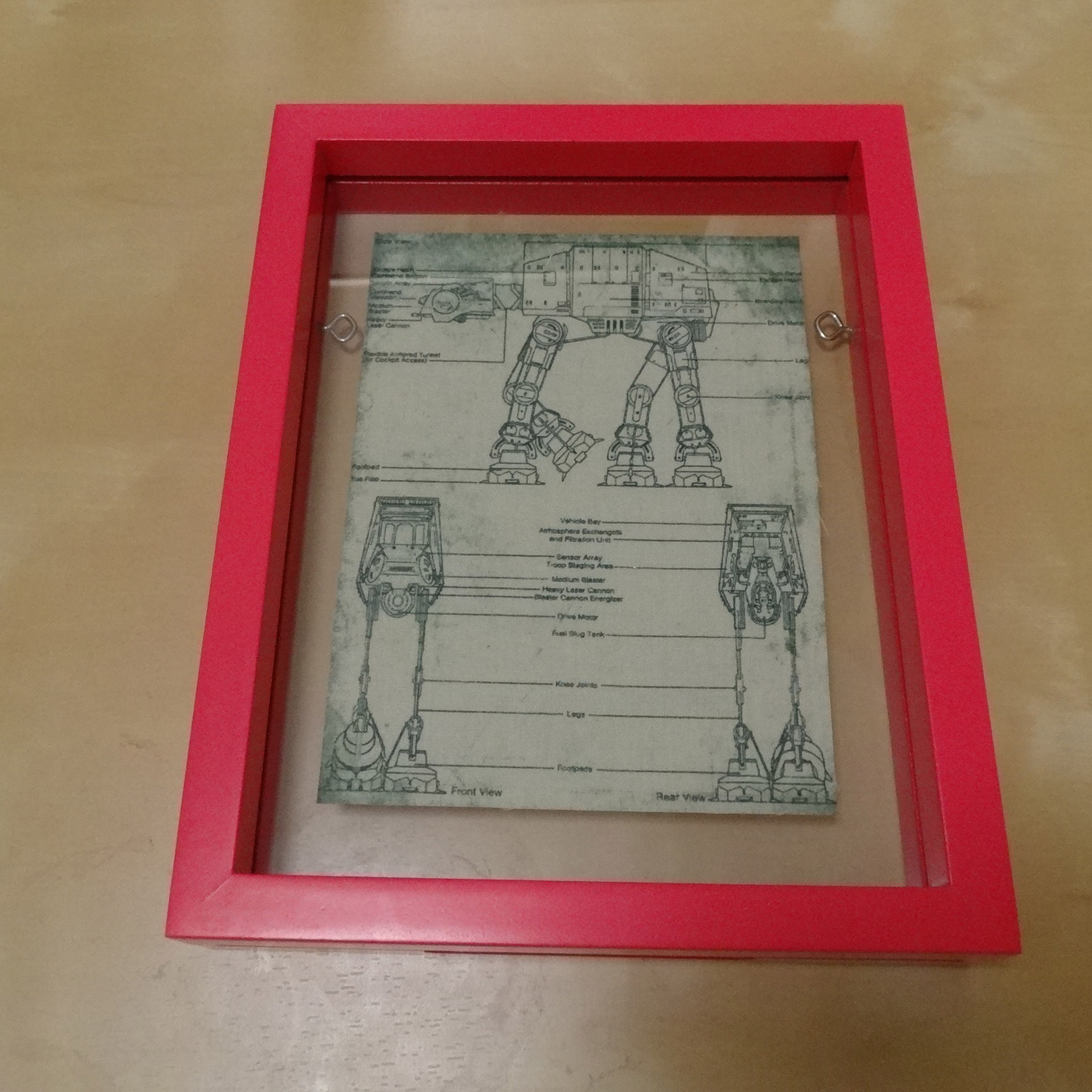 Star Wars Framed