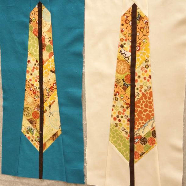 Anna Maria Horner's Feather Blocks