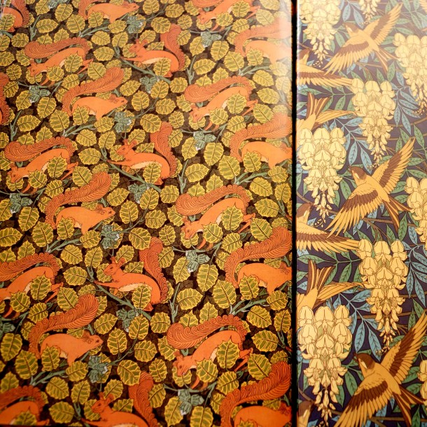 Art Nouveau Wall Papers