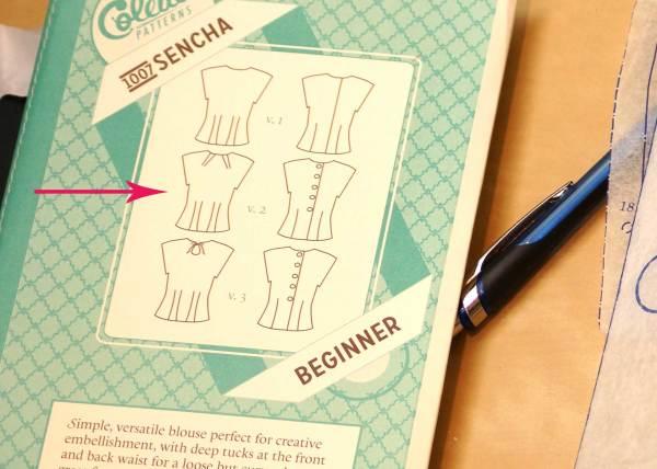 Colette Sencha Pattern