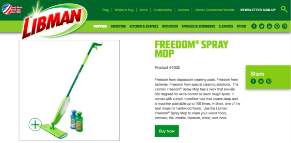 Libman Refillable Mop Thingy